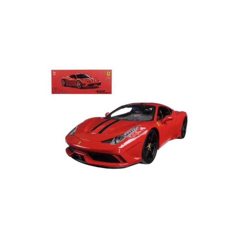 Signature Ferrari 458 Speciale 2014 Red 1:43 Burago BU36901 Miniature
